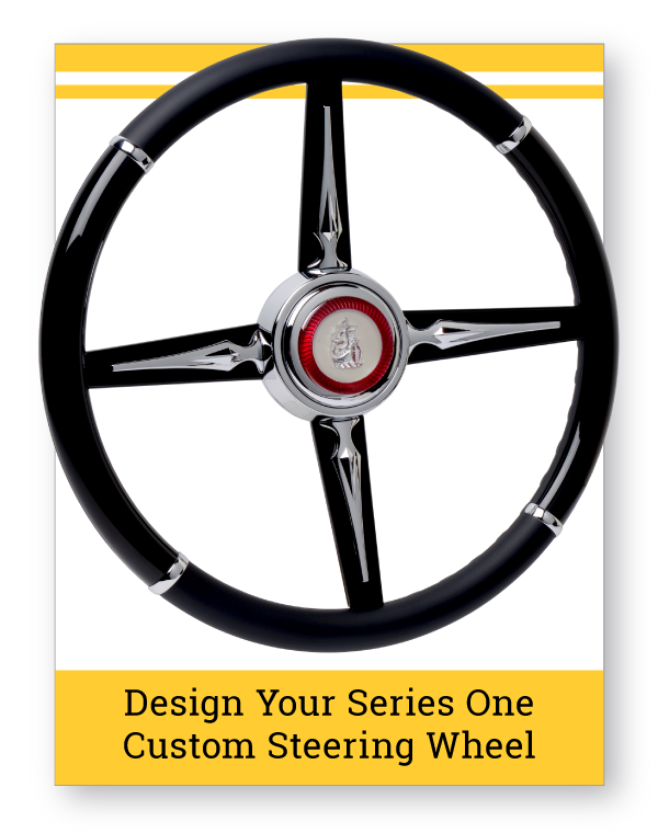 Series One Bonneville Custom Steering Wheel