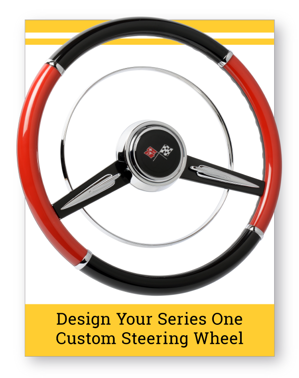 Series One Gazelle Custom Steering Wheel
