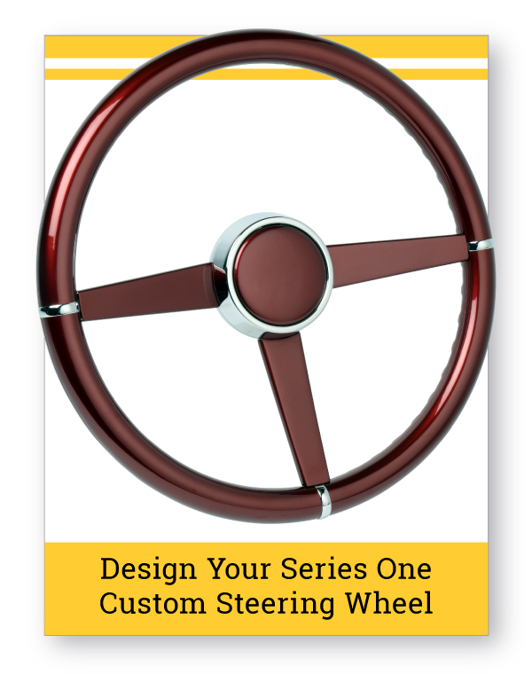 Series One Pomona Custom Steering Wheel