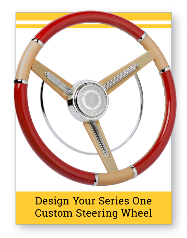 Series One Classic Custom Steering Wheel
