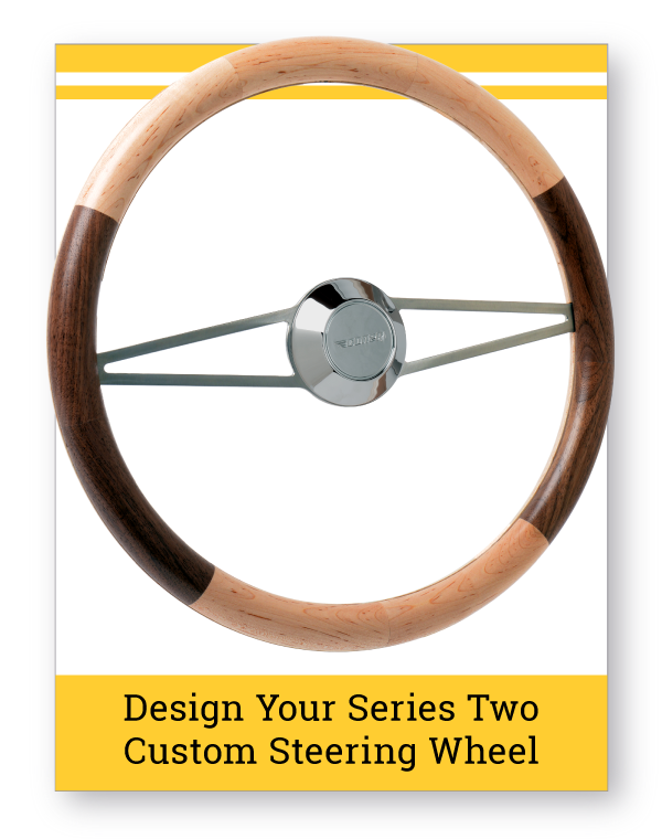 Series Two Custom Wood Steering Wheel