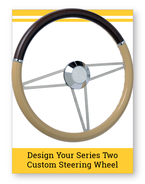 Series Two Pomona Custom Steering Wheel