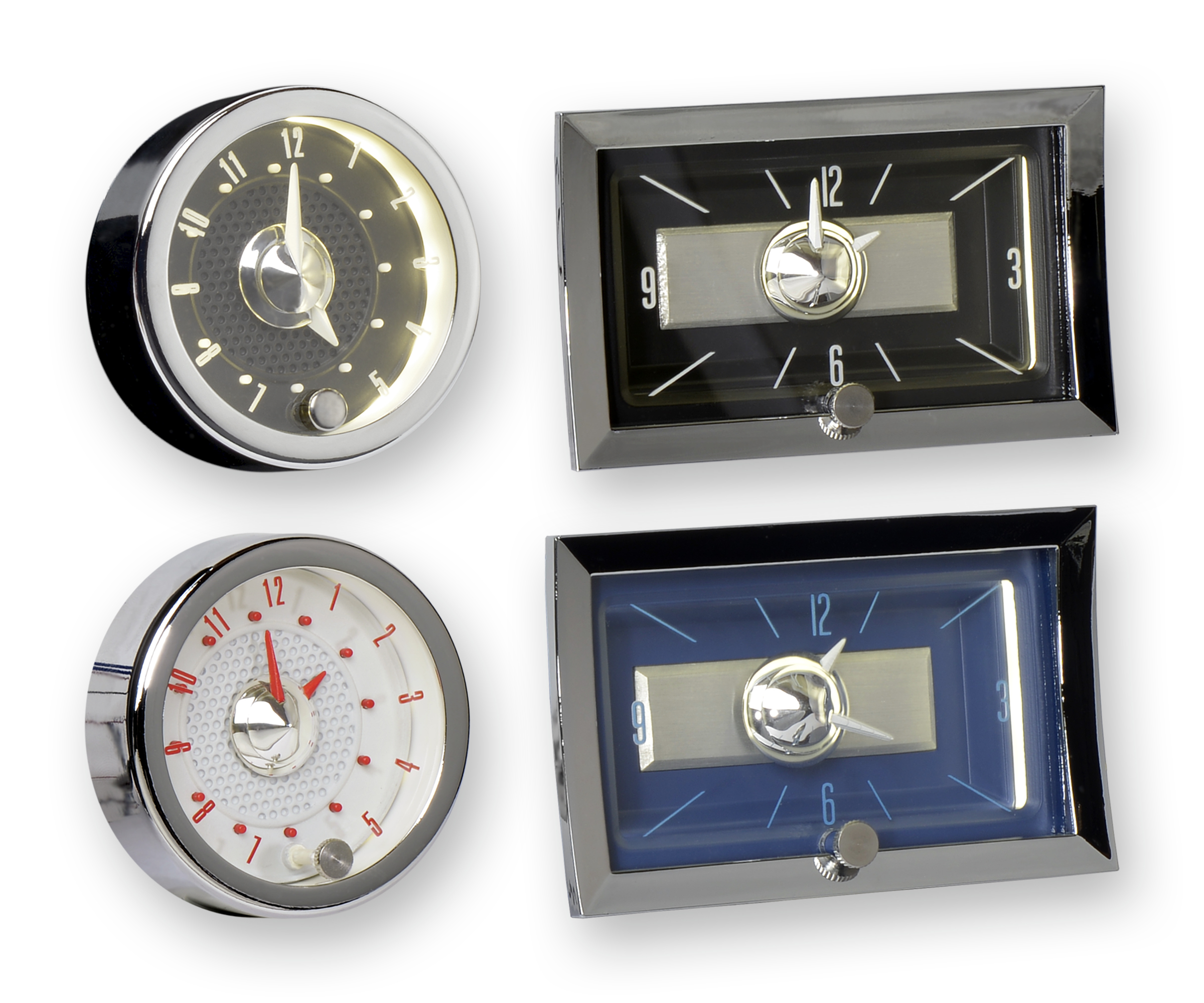 "CON2R Releases New ""SuperStock"" Clocks For Tri-Five Chevies"