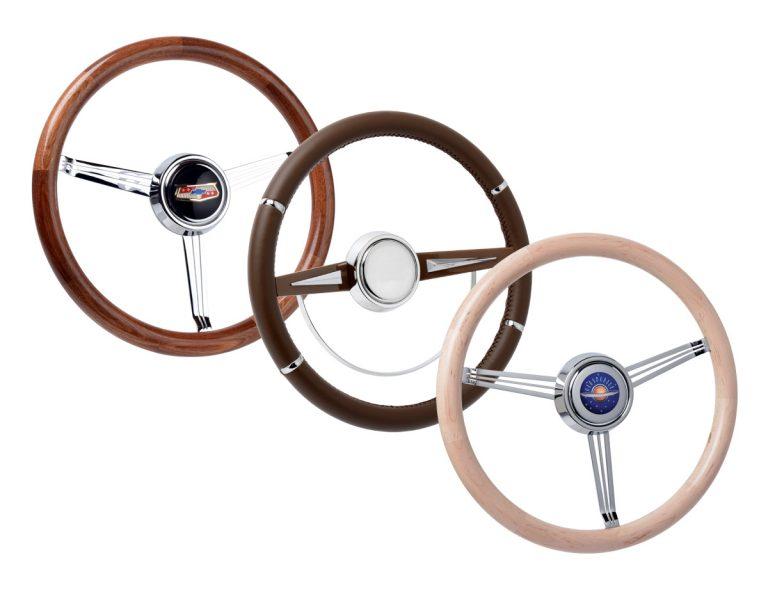 Wood & Leather Grip Steering Wheels Gallery