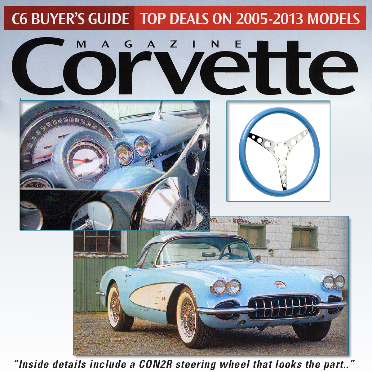 Corvette Magazine, April 2019
